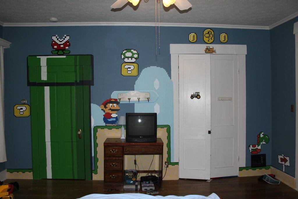 Awesome Video Game Themed Bedrooms Room Bath