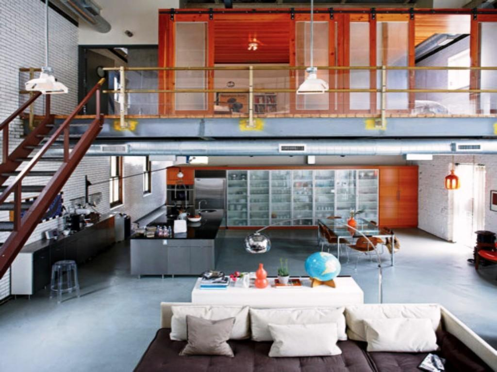 Awesome Warehouse Kitchen Design