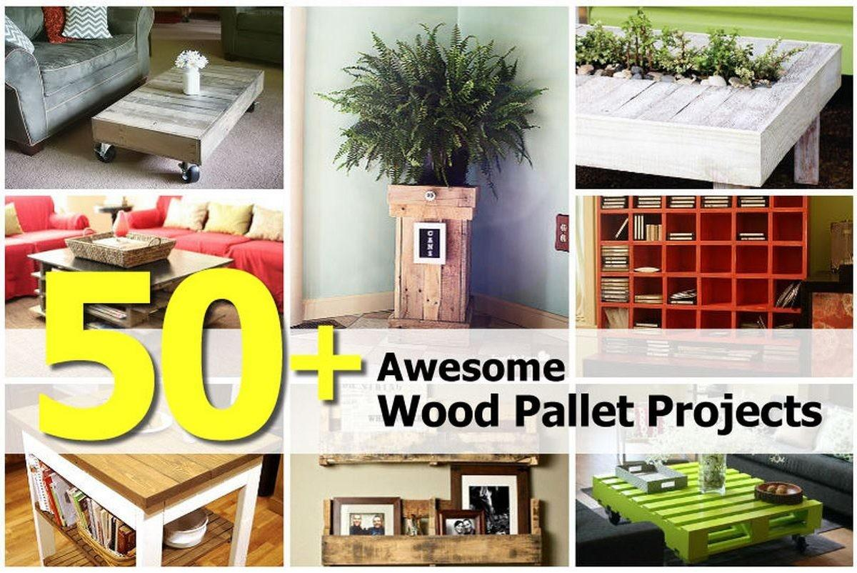 Awesome Wood Pallet Projects