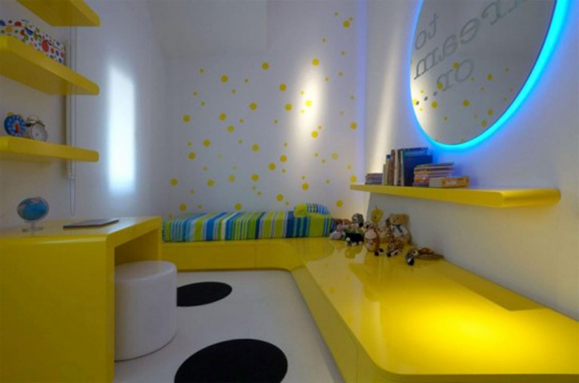 Awesome Yellow Boy Room Ideas Kids Design