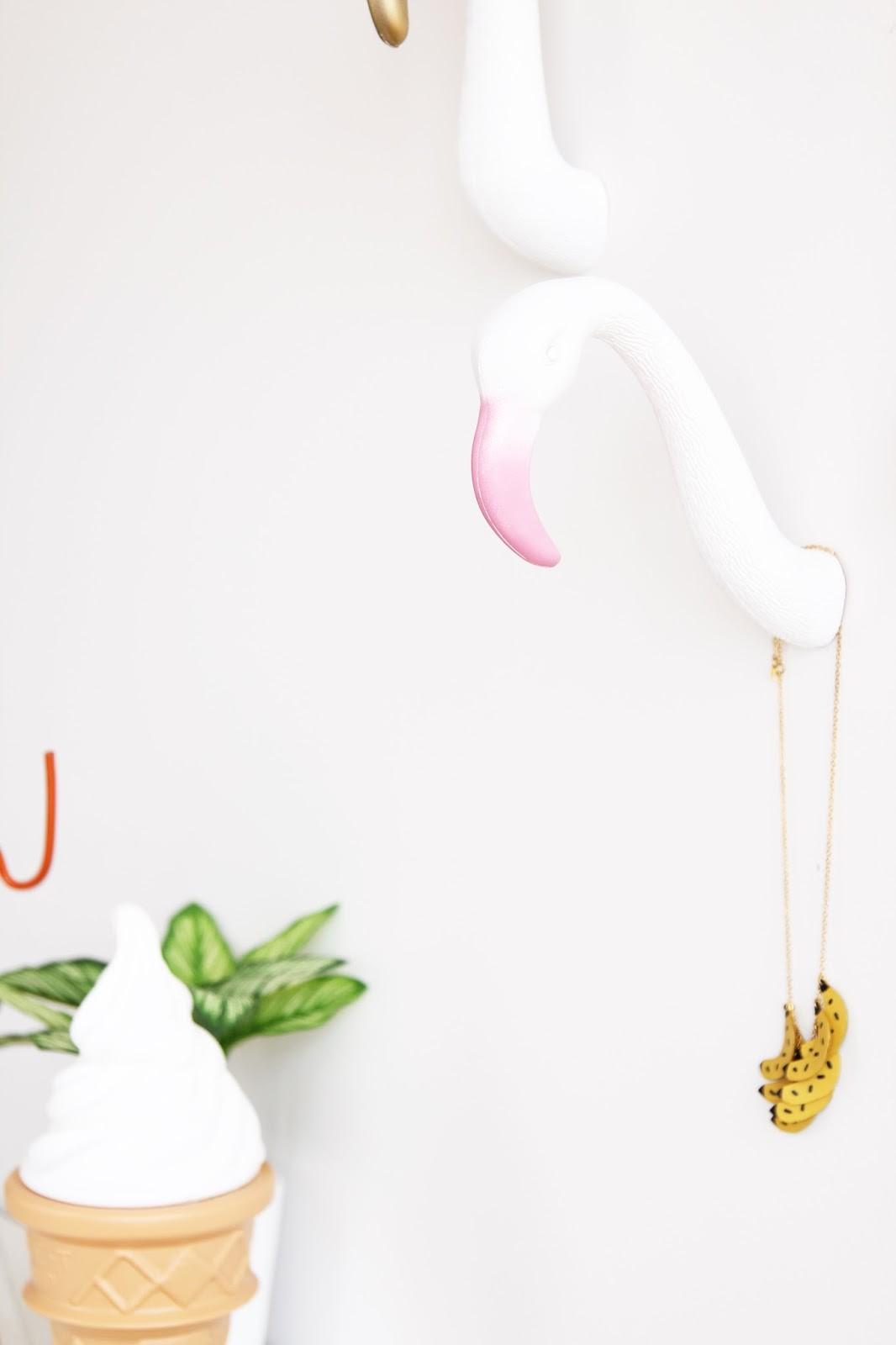 Aww Sam Diy Flamingo Wall Hooks