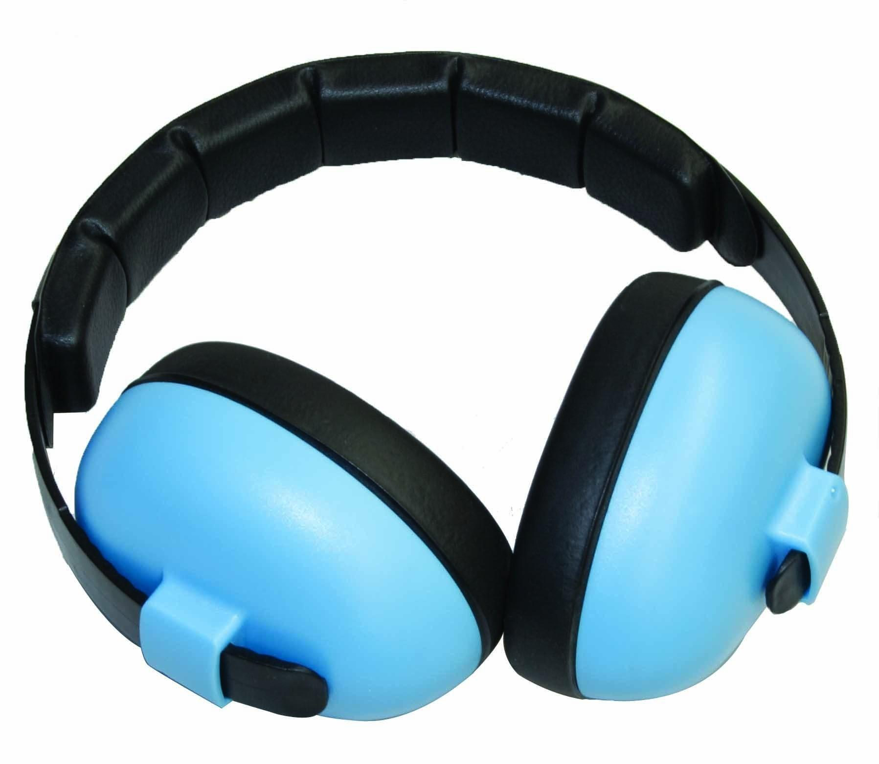 Baby Banz Ear Muffs Mini 2yrs Blue Babywear