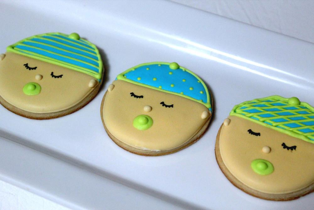 Baby Face Cookies Allfreeholidaycrafts