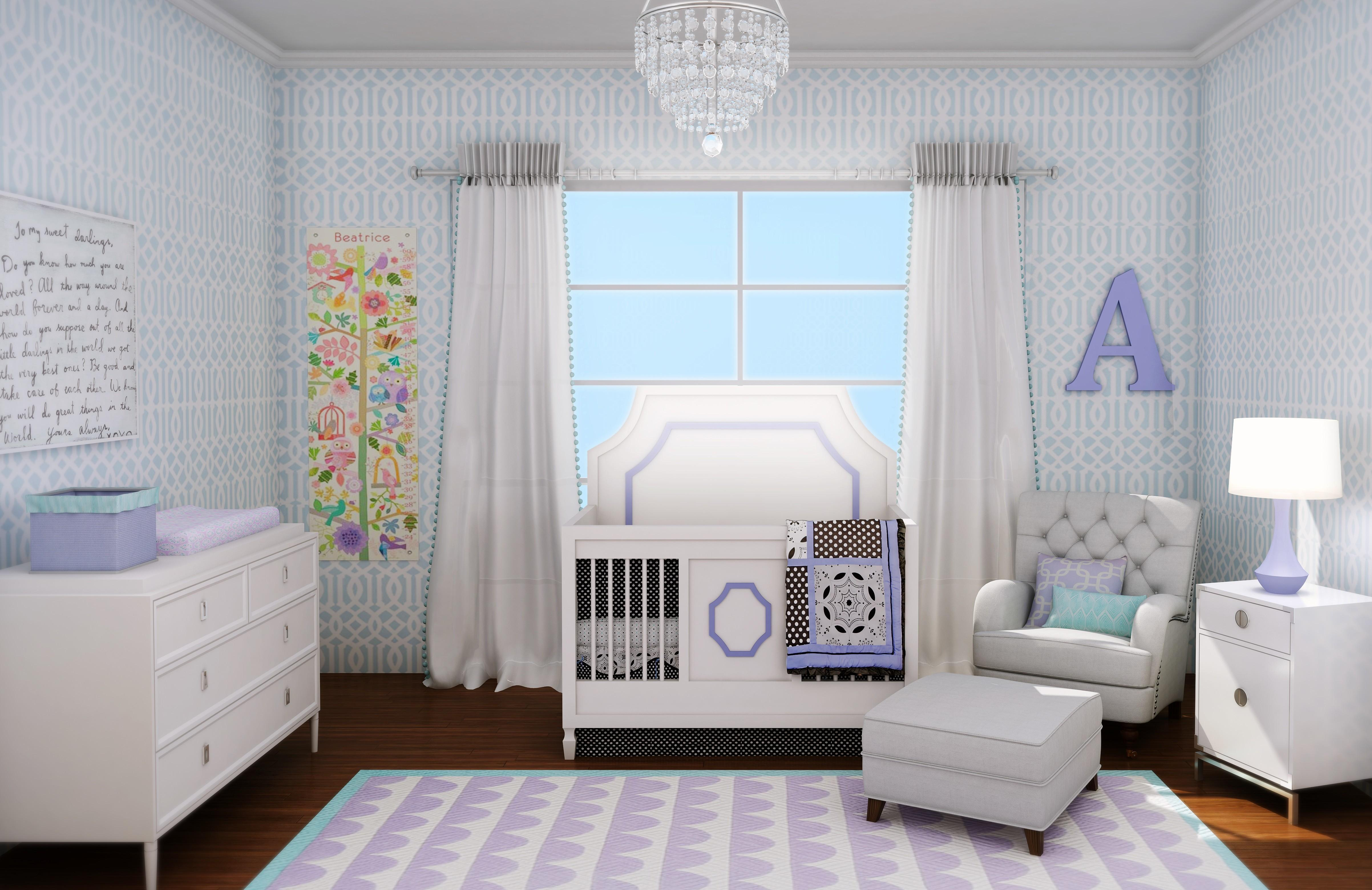 Baby Girls Bedroom Ideas Home Design Girl Nursery