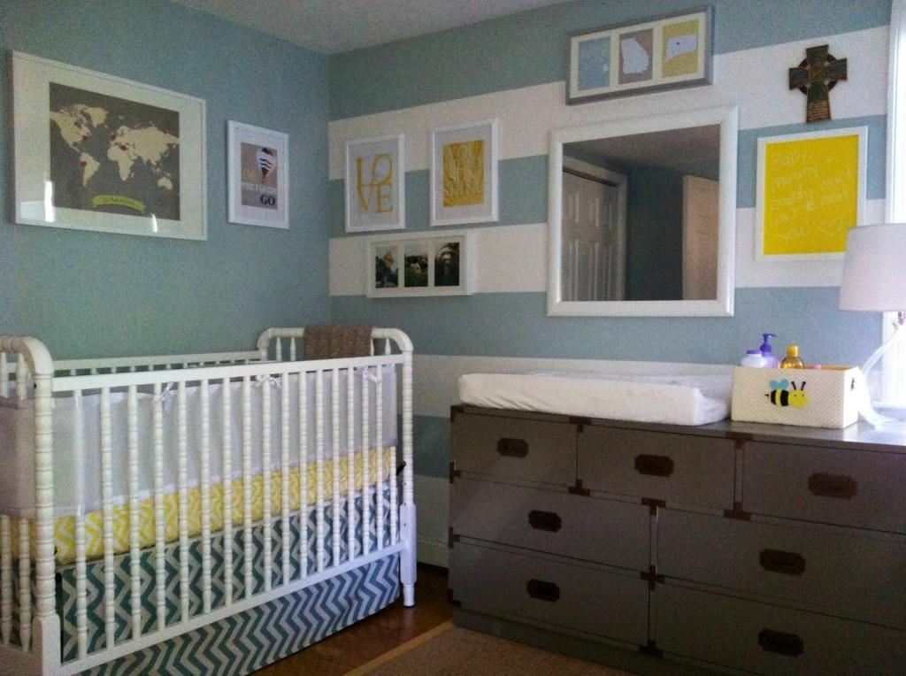 Baby Harper Travel Themed Nursery Project