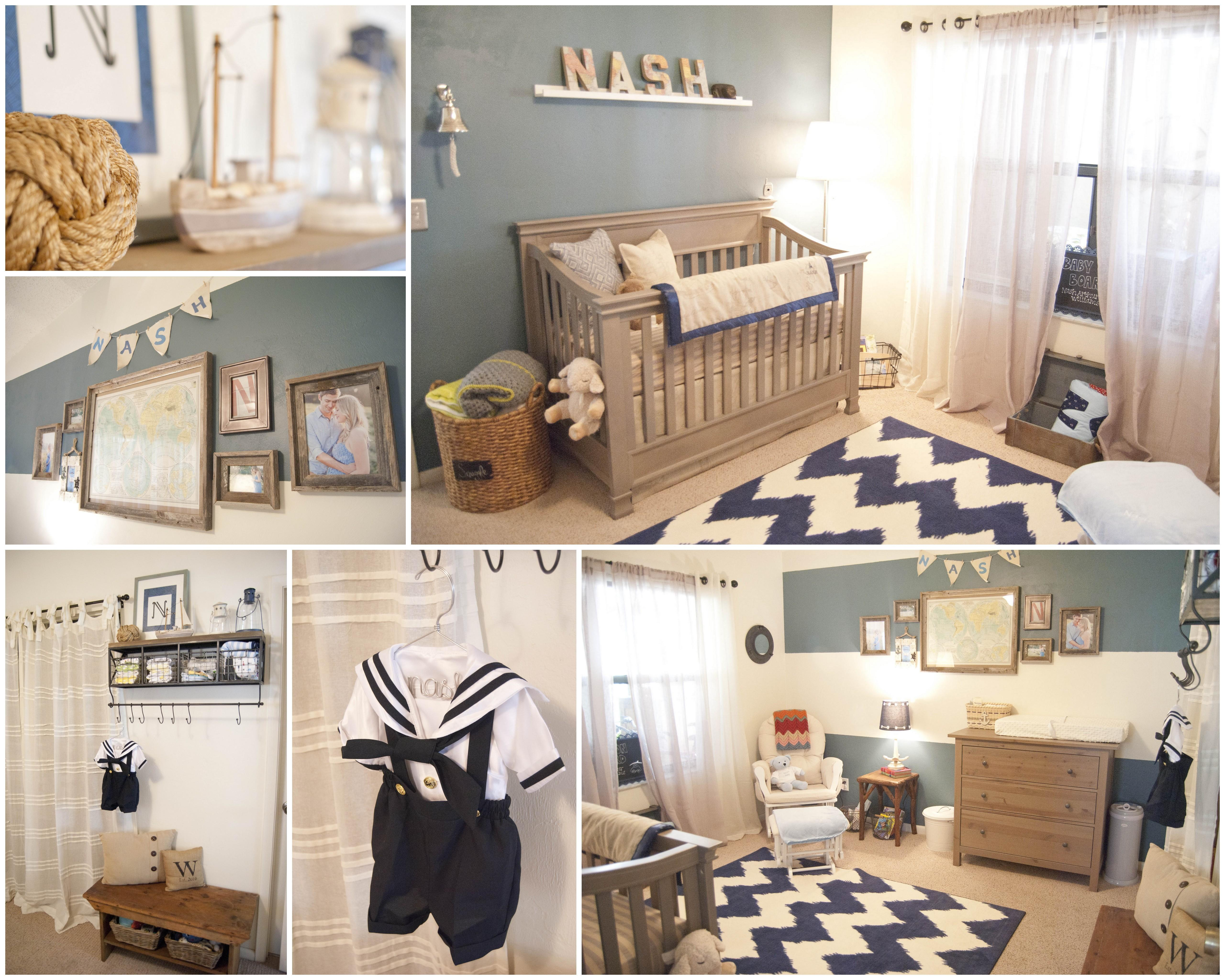 Baby Nash Vintage Nautical Nursery Project