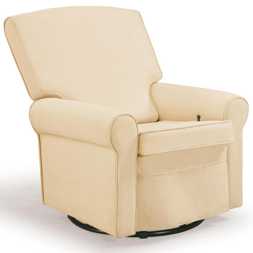 Baby Rocking Chair White Leather Land Nod Autos Post