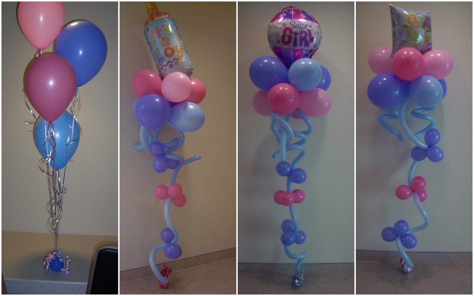 Baby Shower Balloon Centerpieces Party Favors Ideas