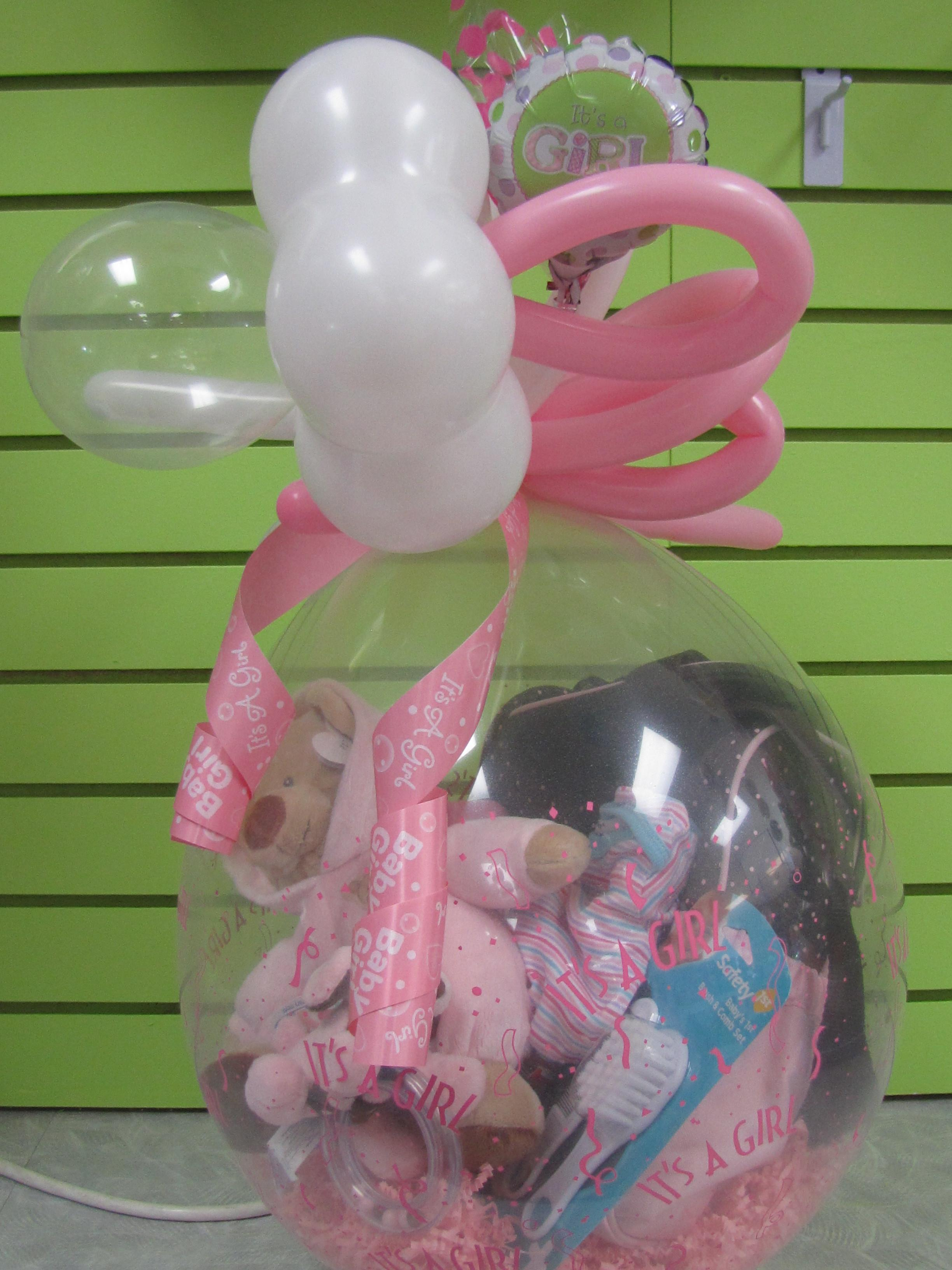 Baby Shower Balloons Ideas Vintage