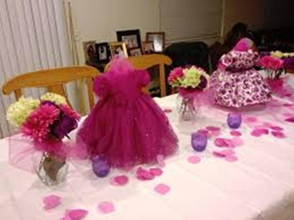 Baby Shower Centerpieces Girl Ideas Make Yourself