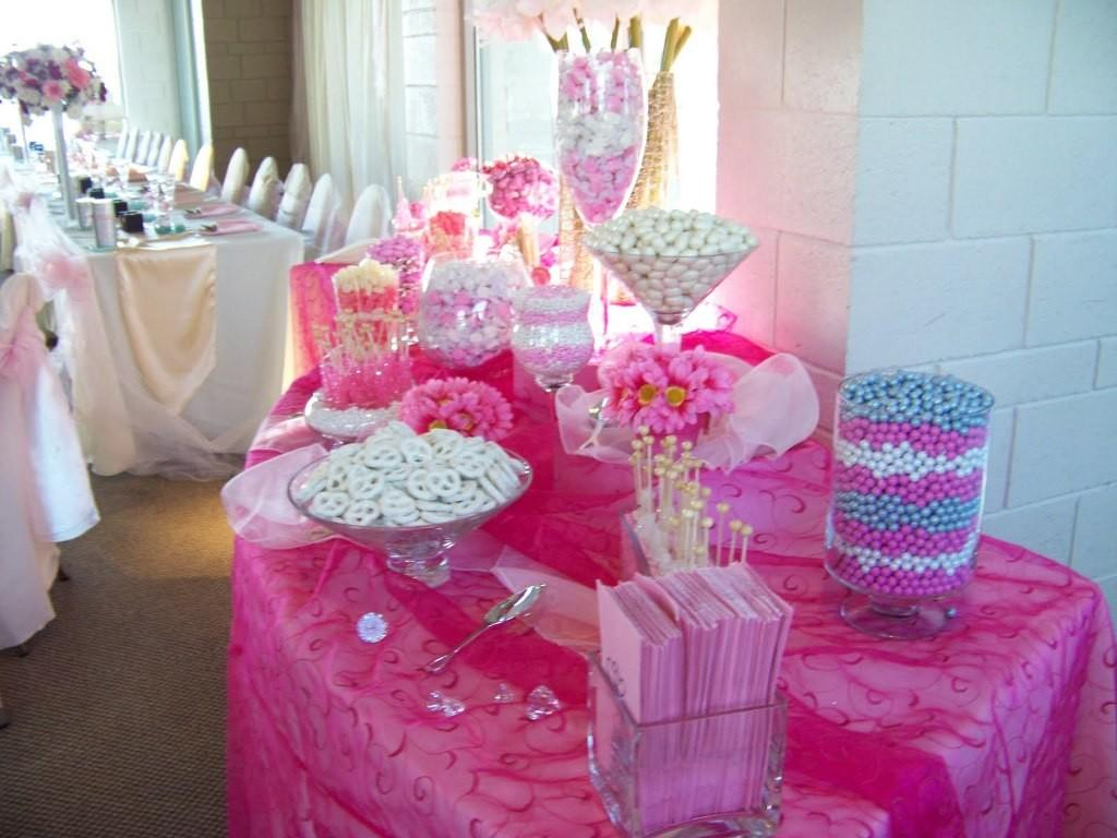 Baby Shower Centerpieces Girl Ideas Tables