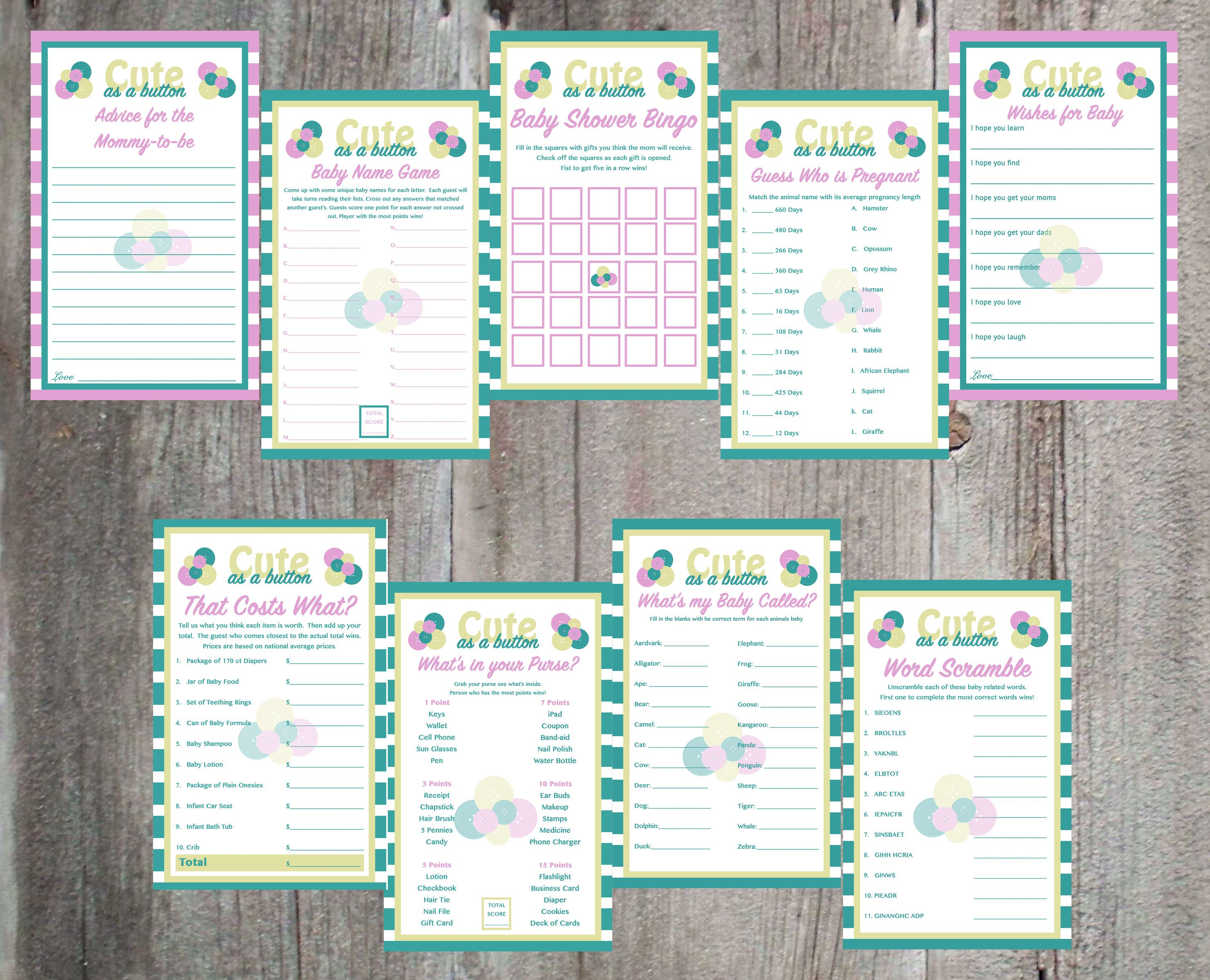 Baby Shower Games Easy Event Ideas