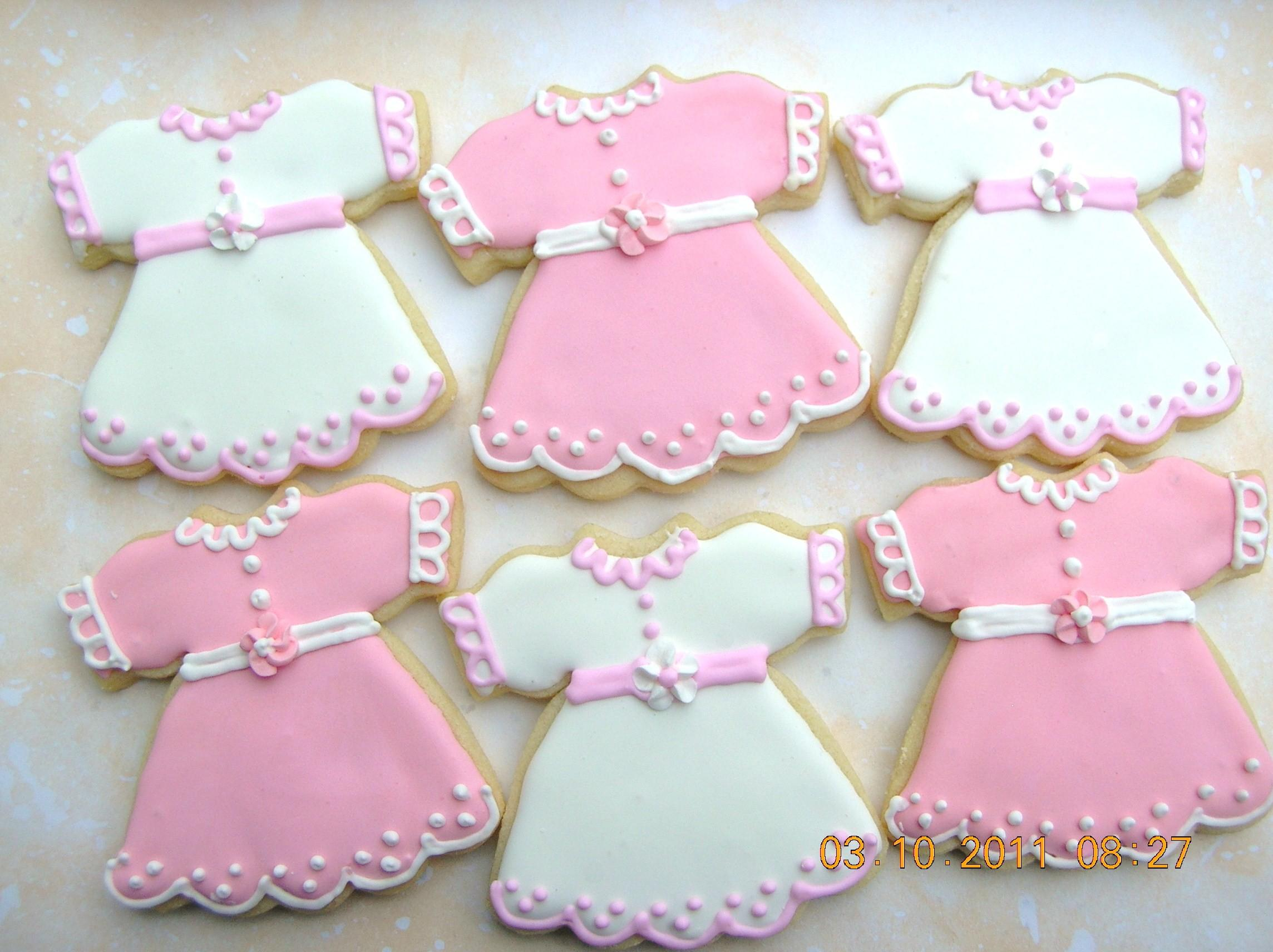 Baby Shower Girl Cookies Diy