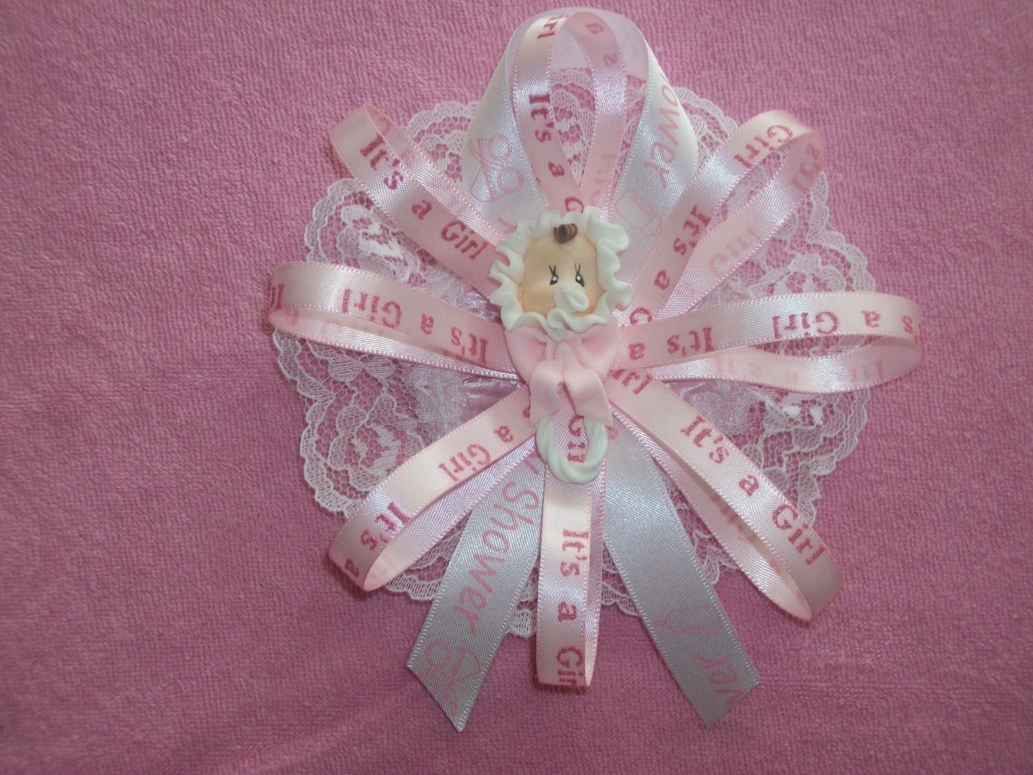 Baby Shower Mom Corsage