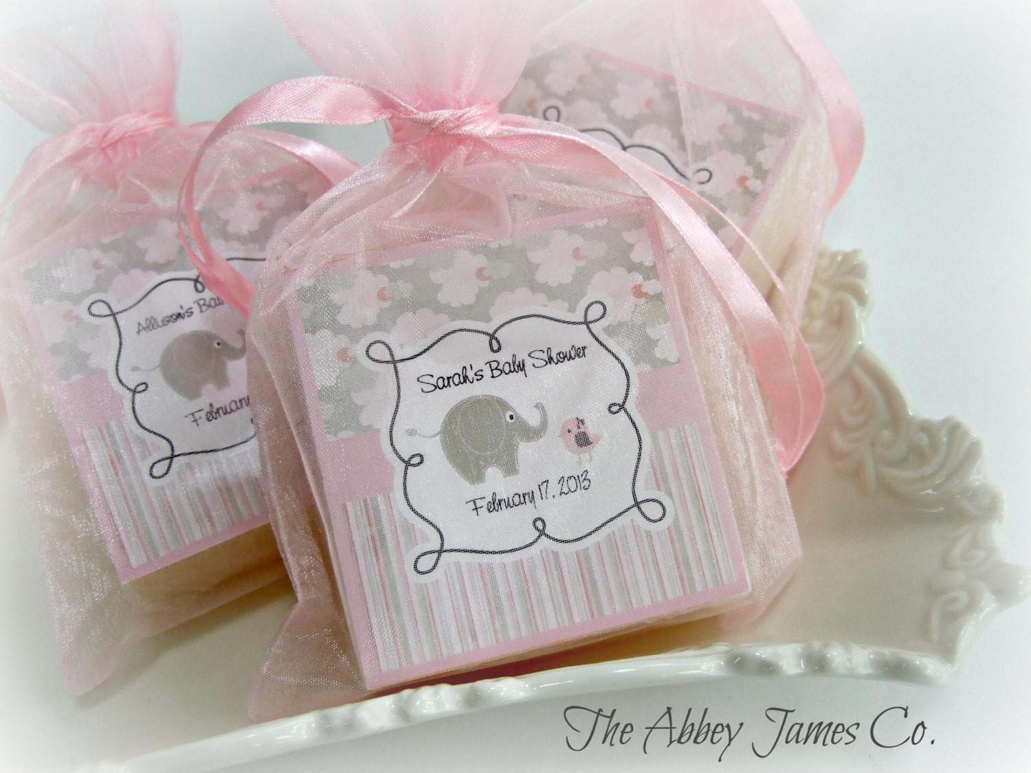 Baby Shower Soap Favors Abbey James