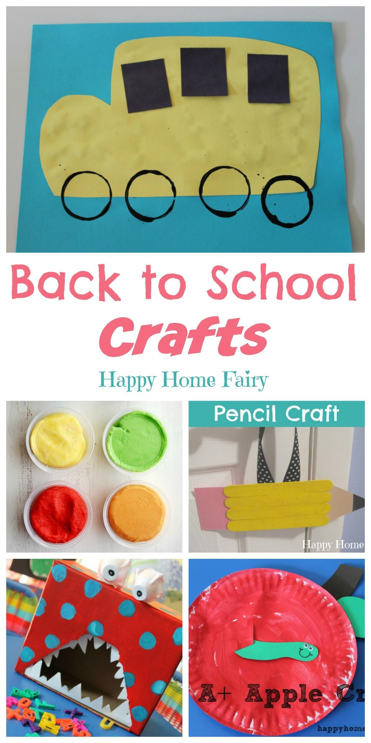 Back School Crafts Happy Home Fairy