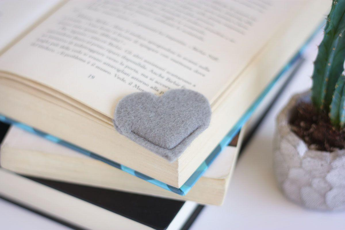 Back School Diy Heart Bookmark