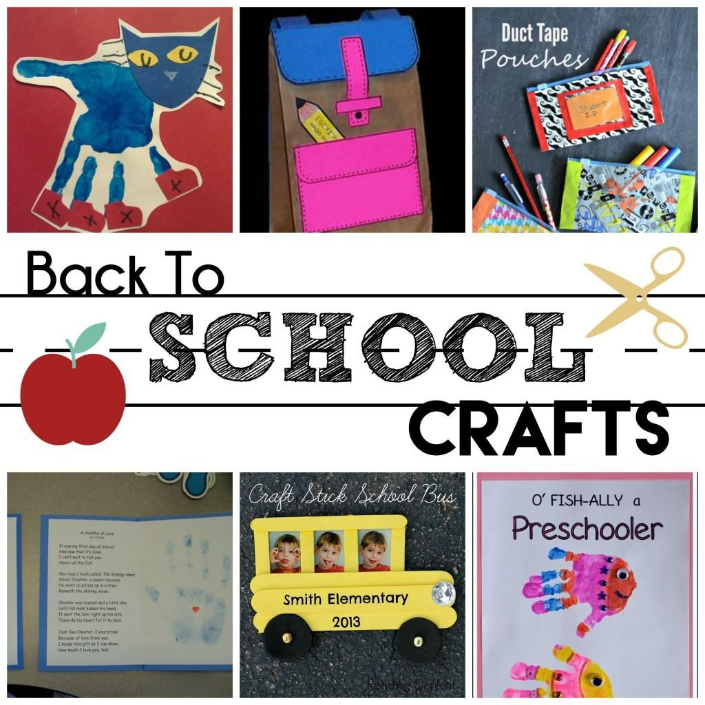 Back School Preschool Crafts Moms Without Answers