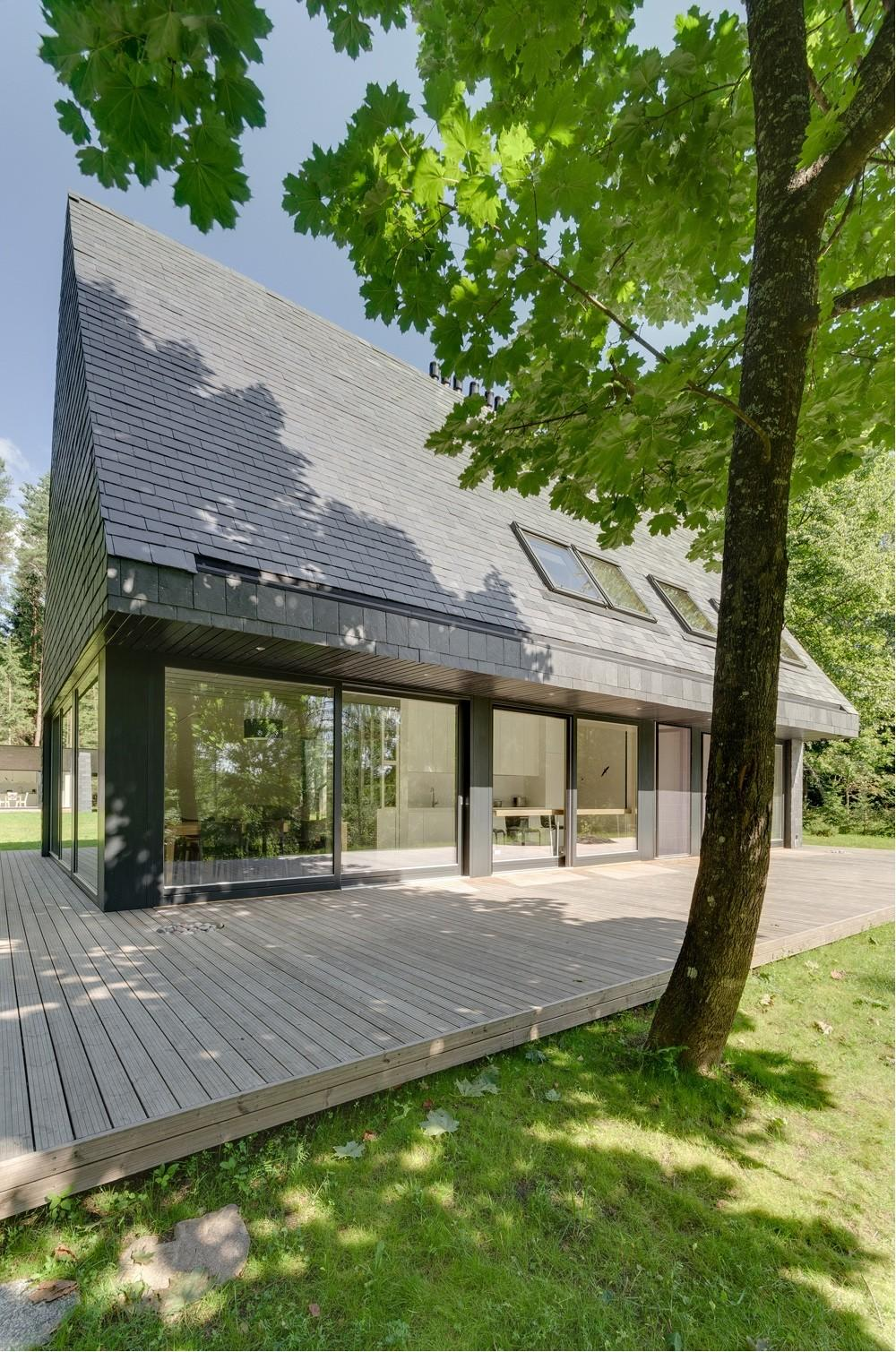 Back Vogue Homes Steeply Pitched Roofs