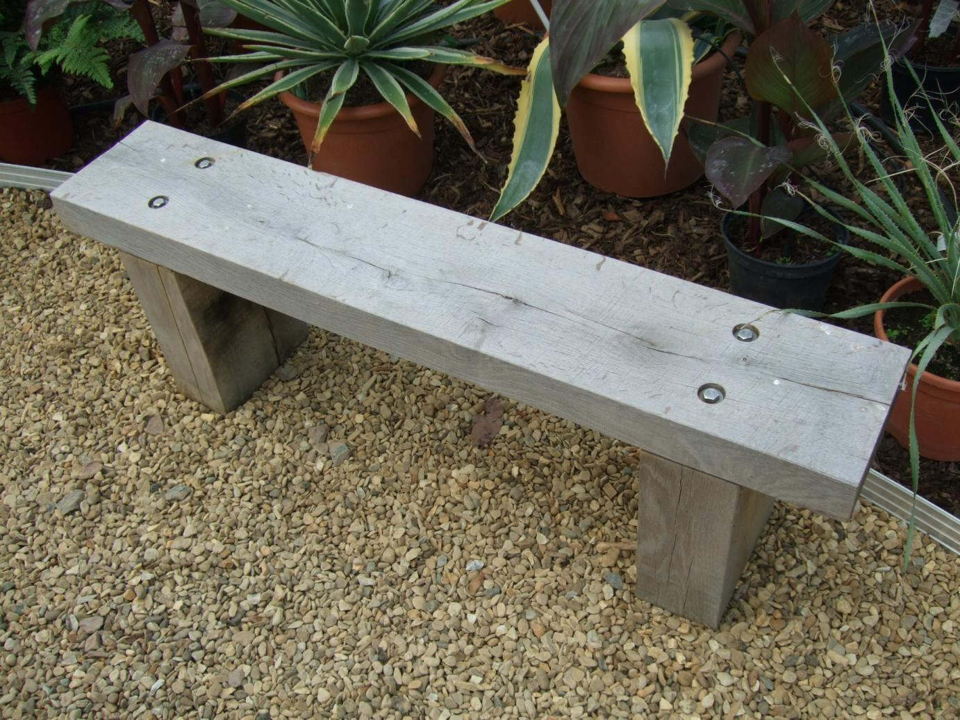 Backless Simple Wood Bench Plans Woodworking