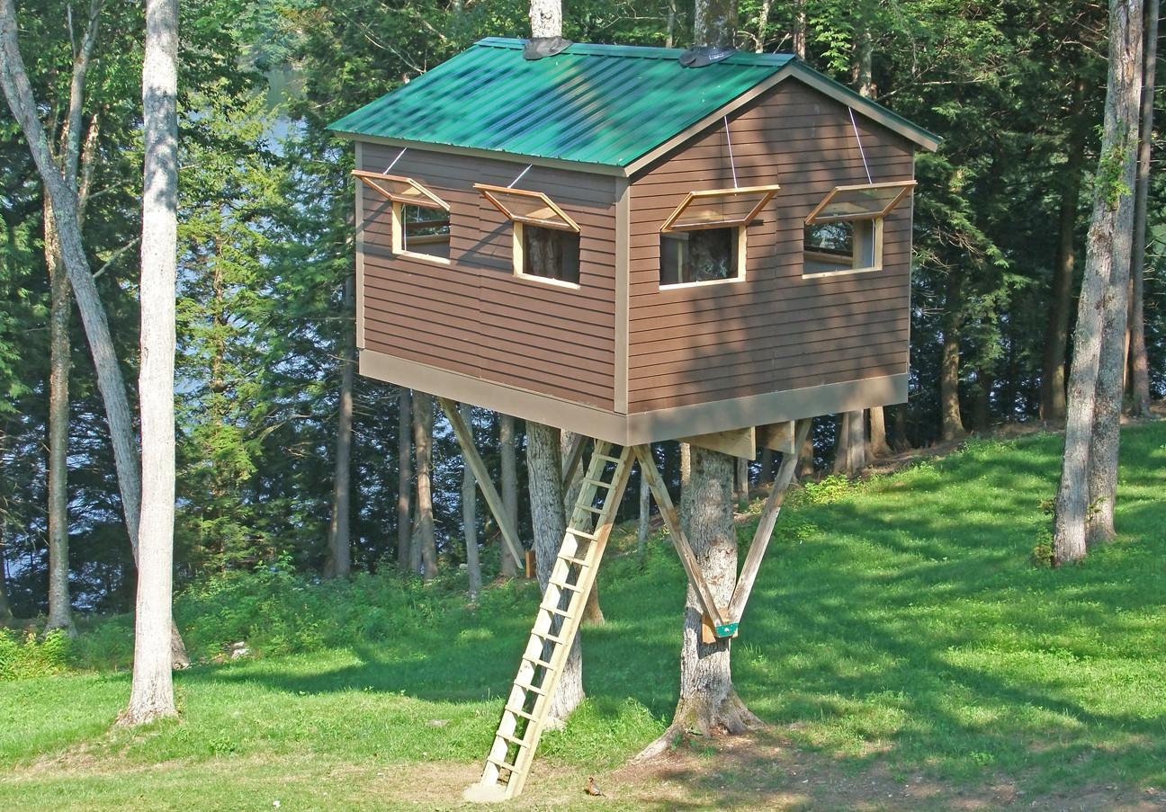 Upscale Awesome Tree Houses For Kids That We Should All Have Images Decoratorist