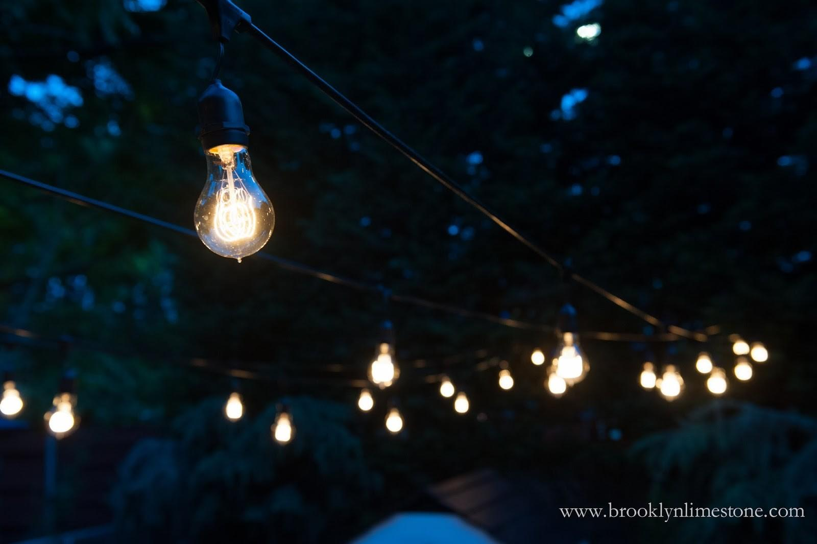 Backyard Lights Gzebo Outdoor Patio
