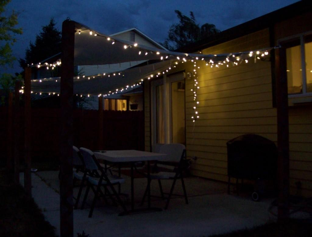 Backyard String Lights Ideas Marceladick