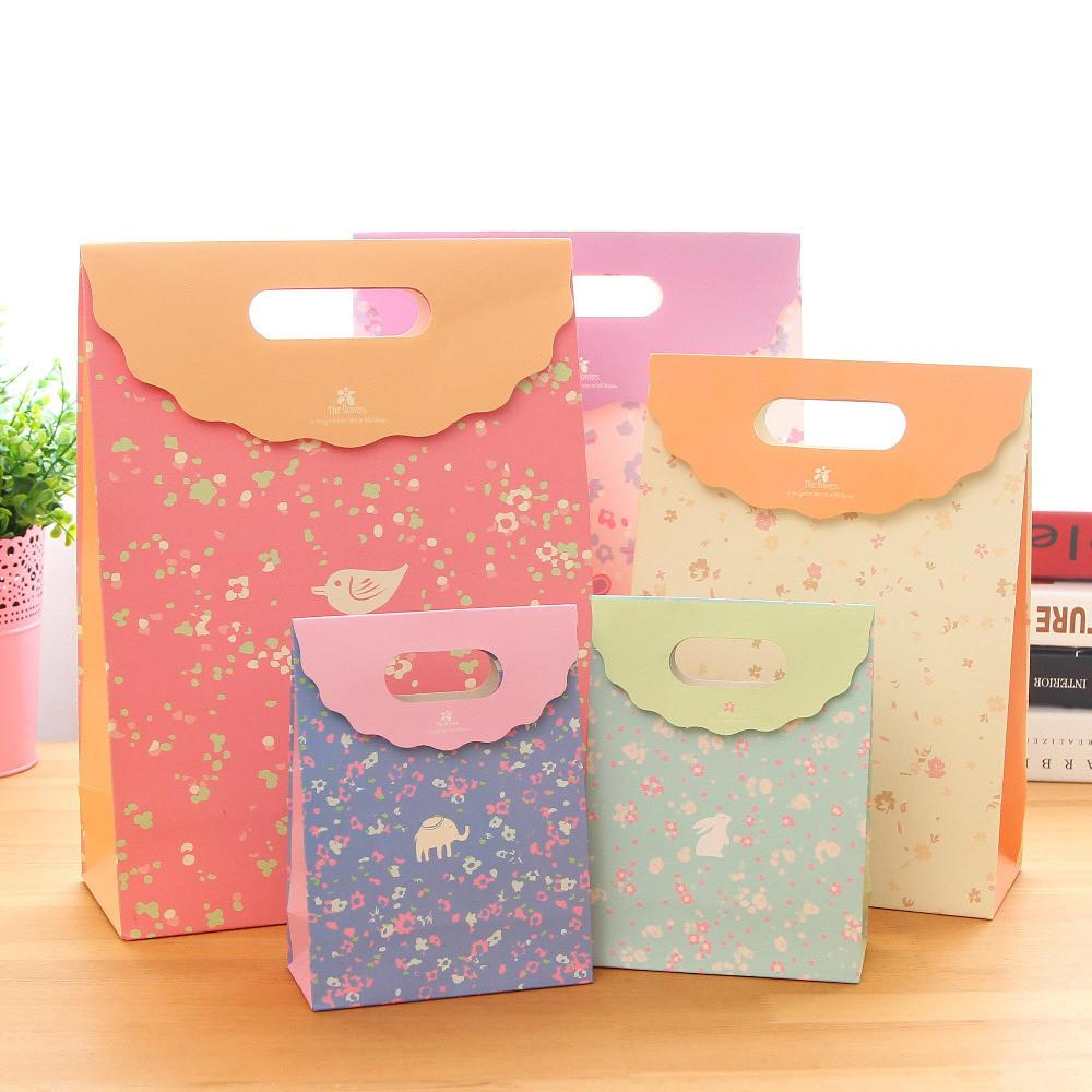 Bags Cute Paper Bag Gift Wrap Kids Birthday Party