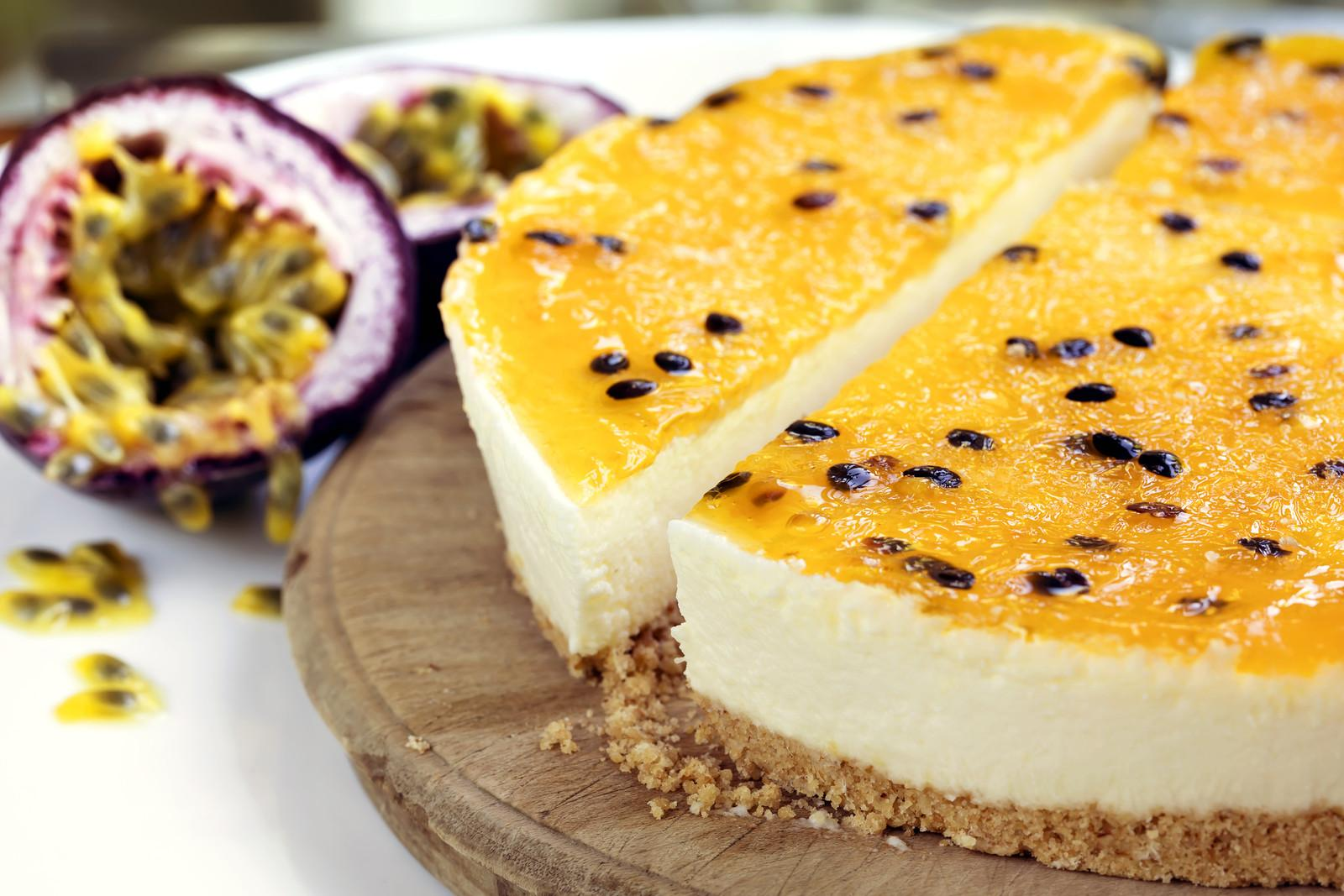 Bake Passionfruit Jelly Cheesecake Stay Home Mum