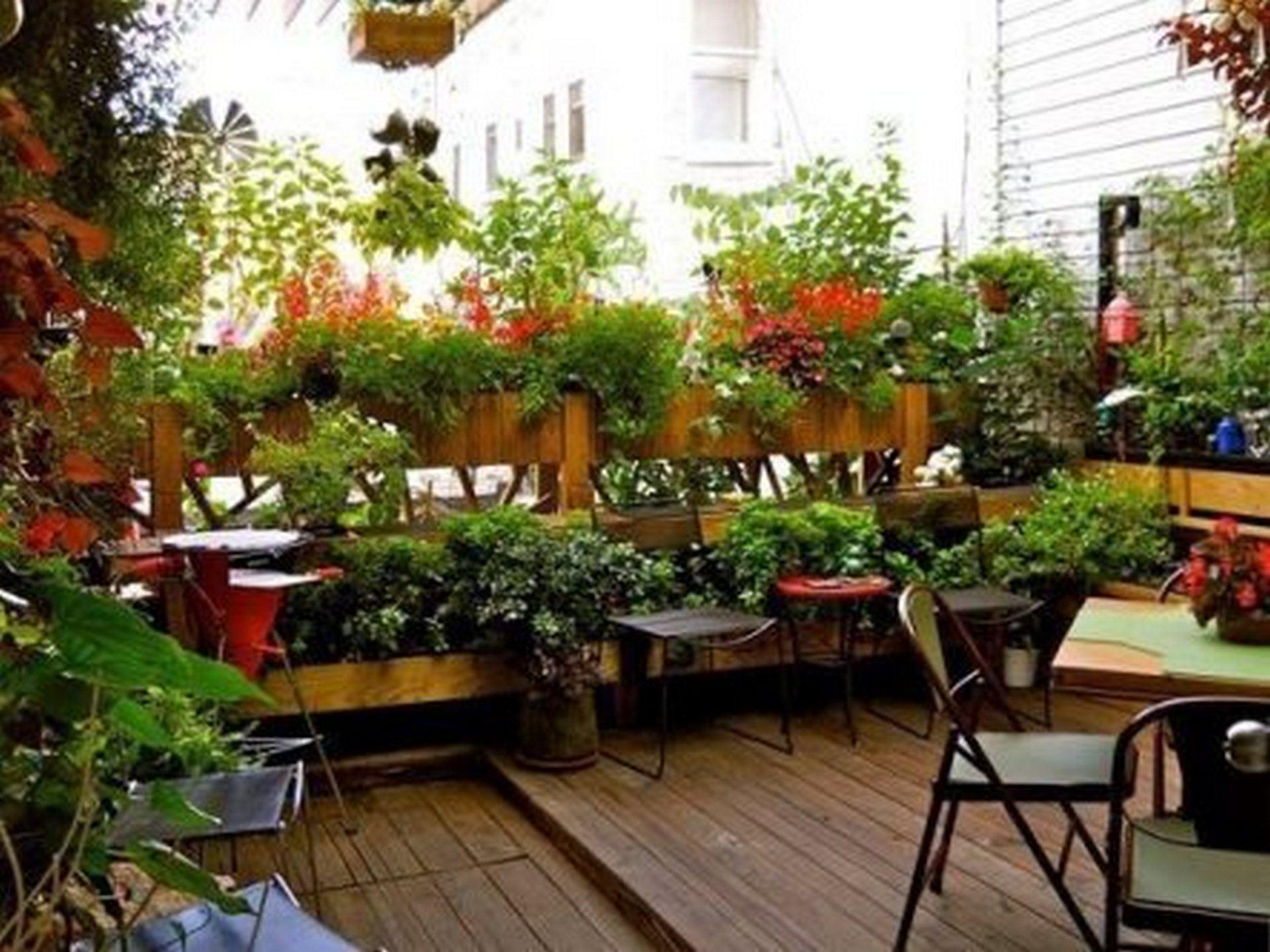 Balcony Garden Design Ideas Terrace Ideal Small Space