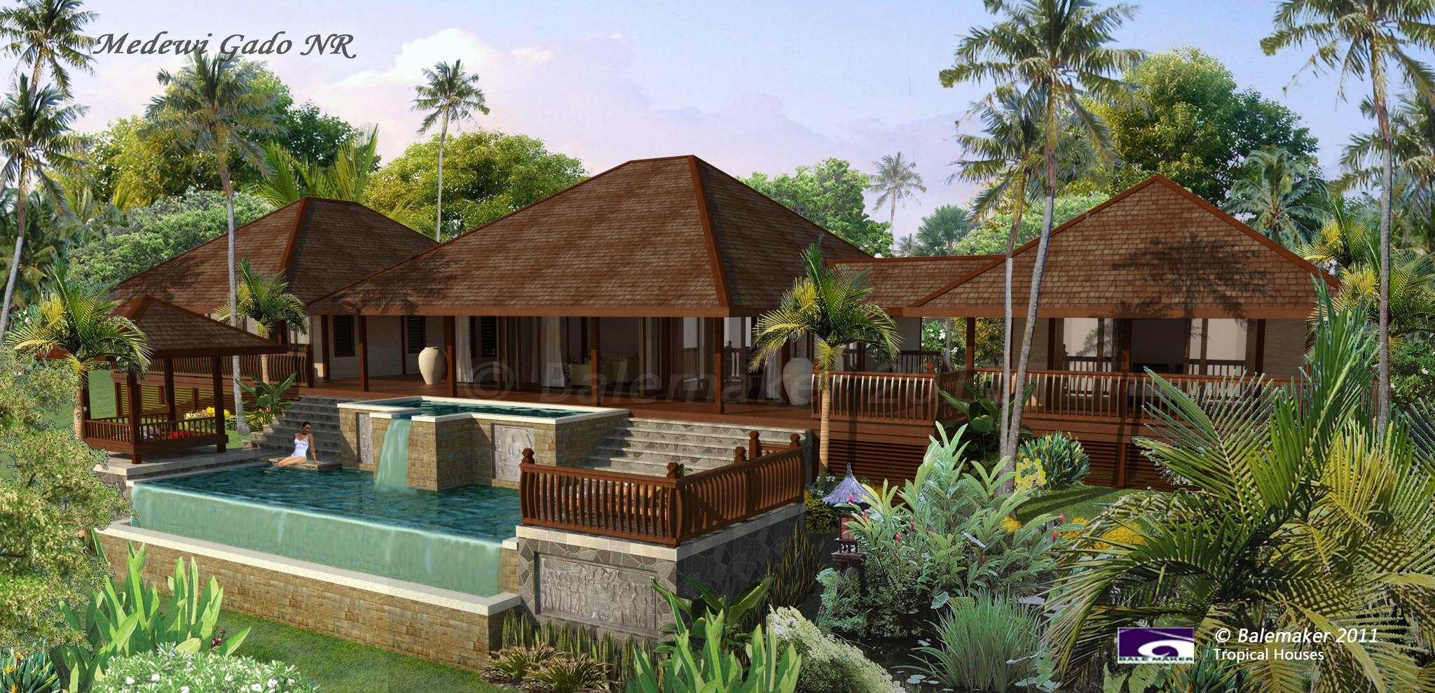 Balemaker Tropical Houses House Plans Builder