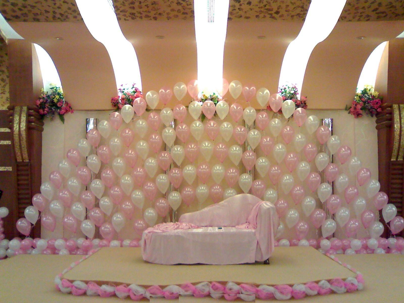 Ballons Wedding Stage Decoration Ideas Weddings Eve
