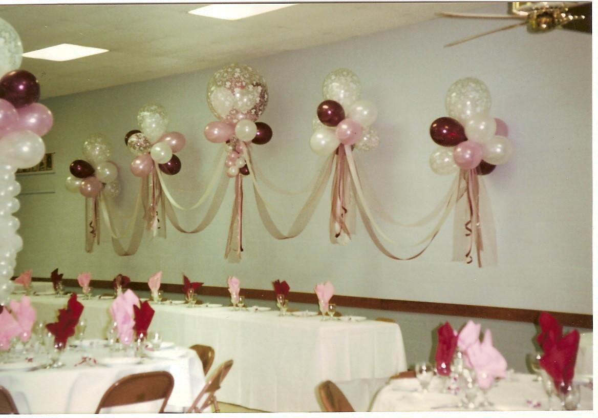 Balloon Decor Central California Wedding