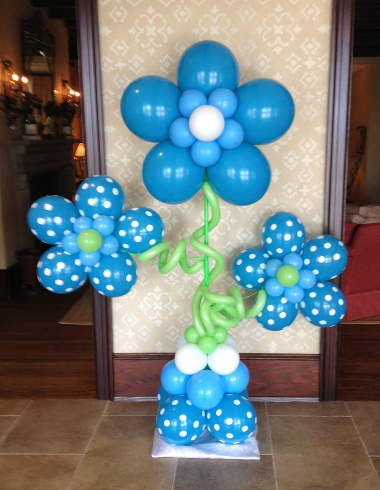 Balloon Decorating Ideas Baby Showers Party Favors
