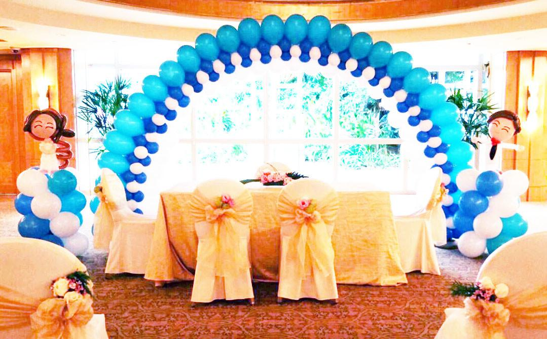 Balloon Decorations Baptism