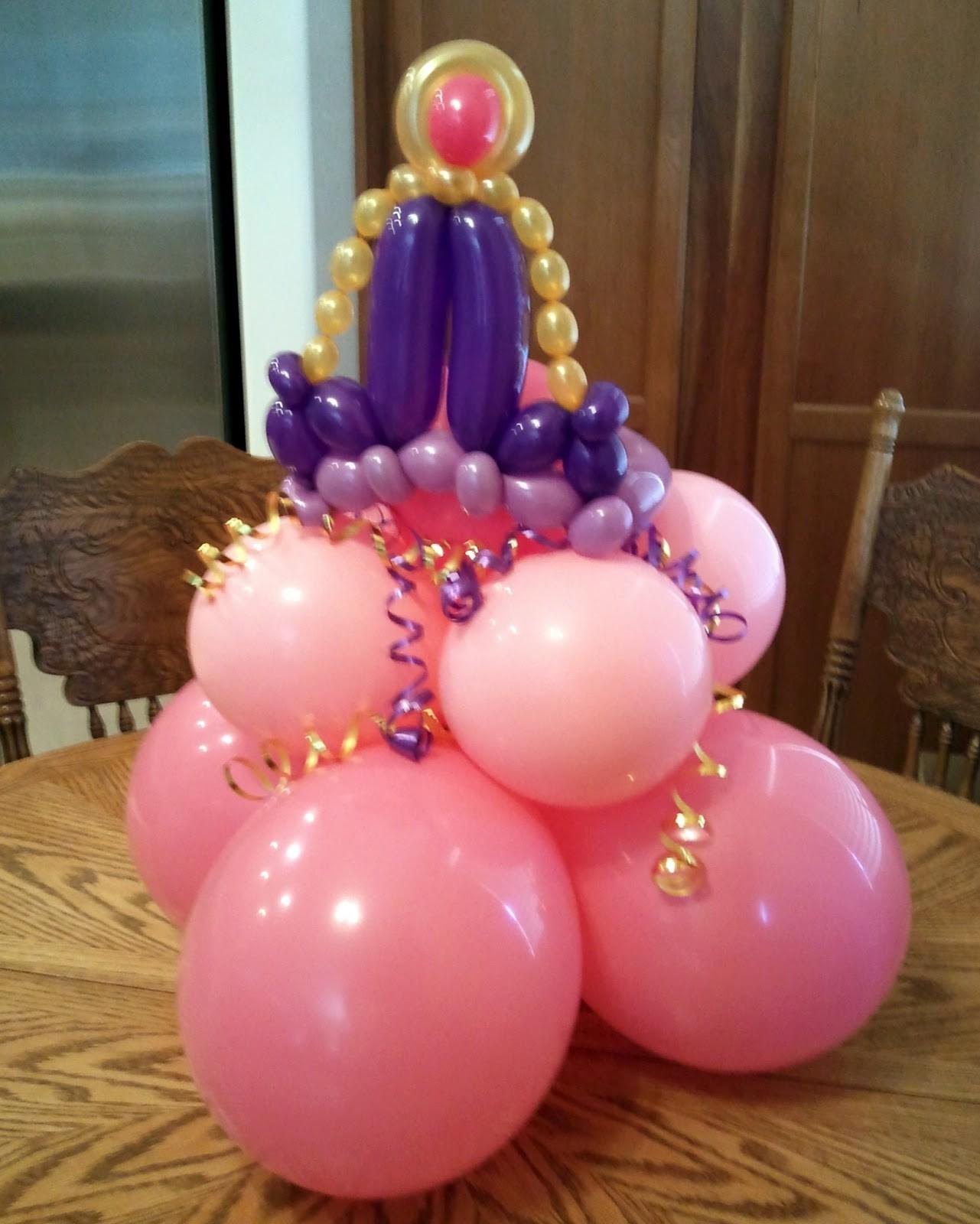 Balloon Happy Princess Party Decorations