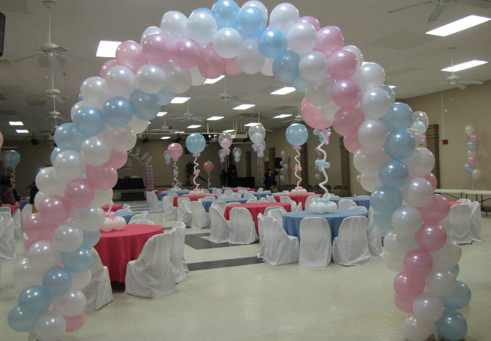 Balloons Decorations Baby Shower Party Favors Ideas
