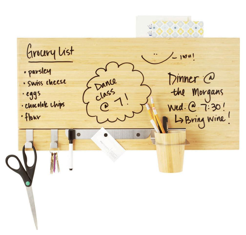 Bamboo Dry Erase Wall Panel Uncommongoods Cut
