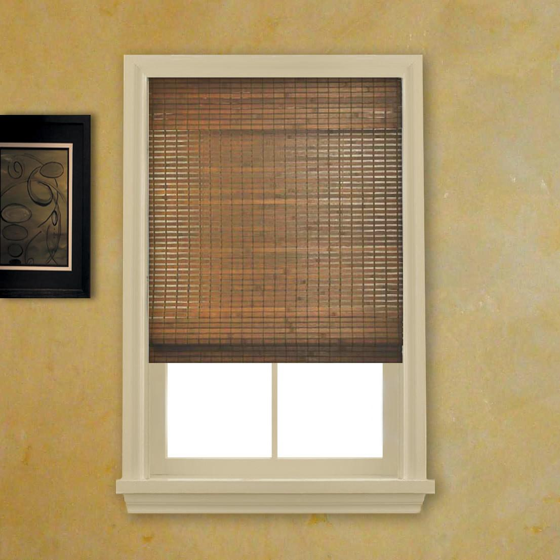 Bamboo Shades Woven Wood Blinds Home Design Idea