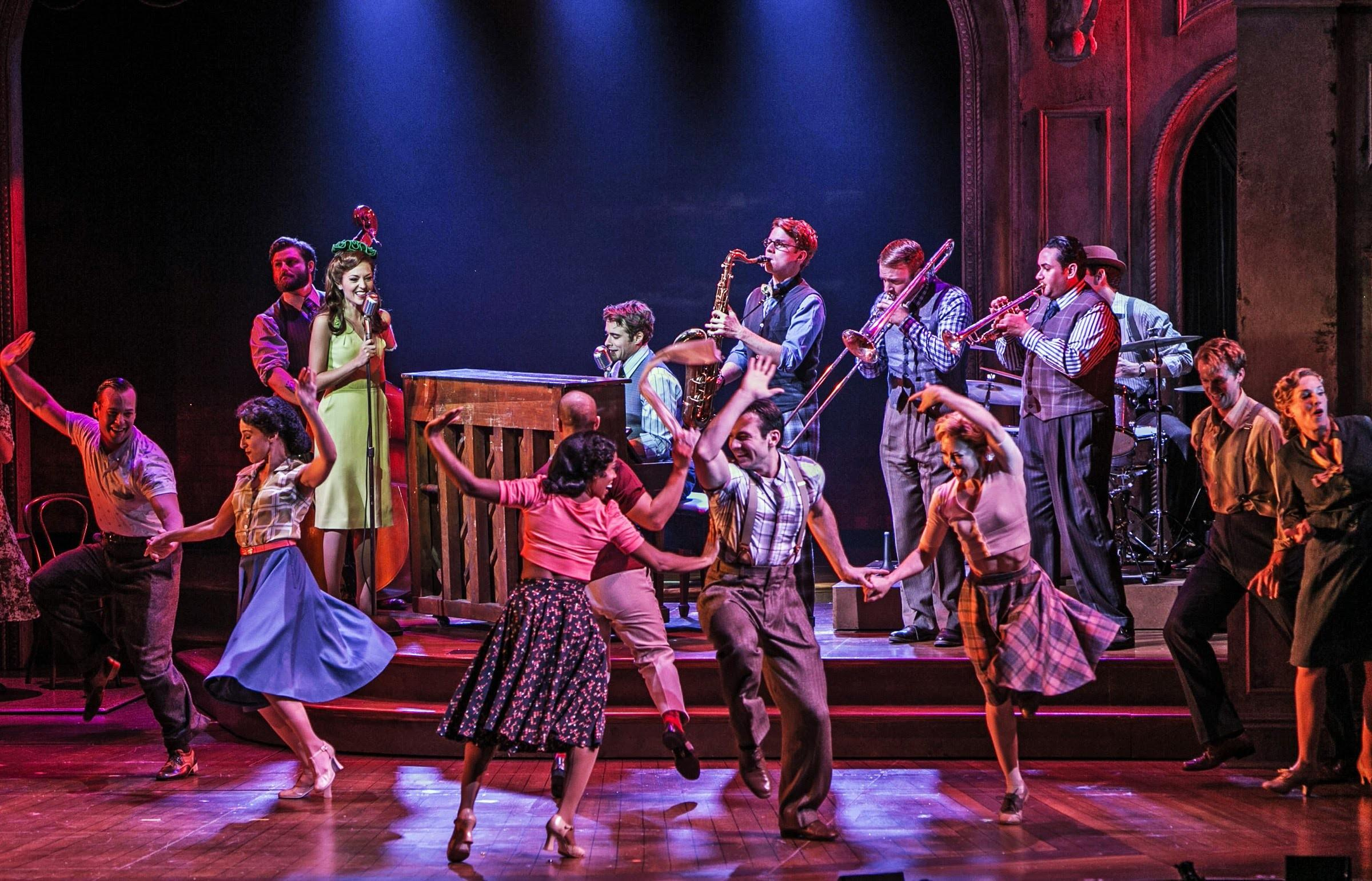 Bandstand Paper Mill Playhouse World Premiere