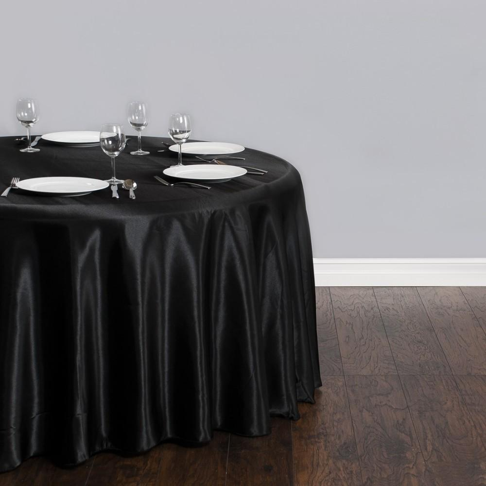 Banquet Table Linens Black Thediapercake Home Trend