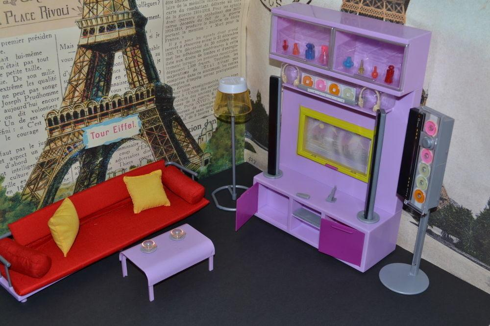 Barbie Dollhouse Furniture Modern Comfort Family Room