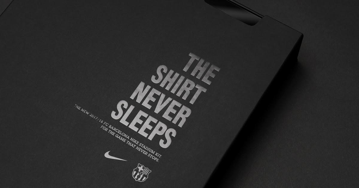 Barcelona 2017 Jersey Premium Edition Packaging