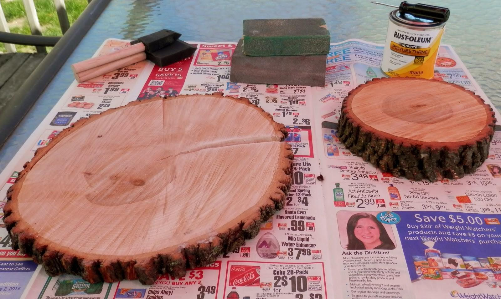 Bare Mother Earth Diy Tree Coasters