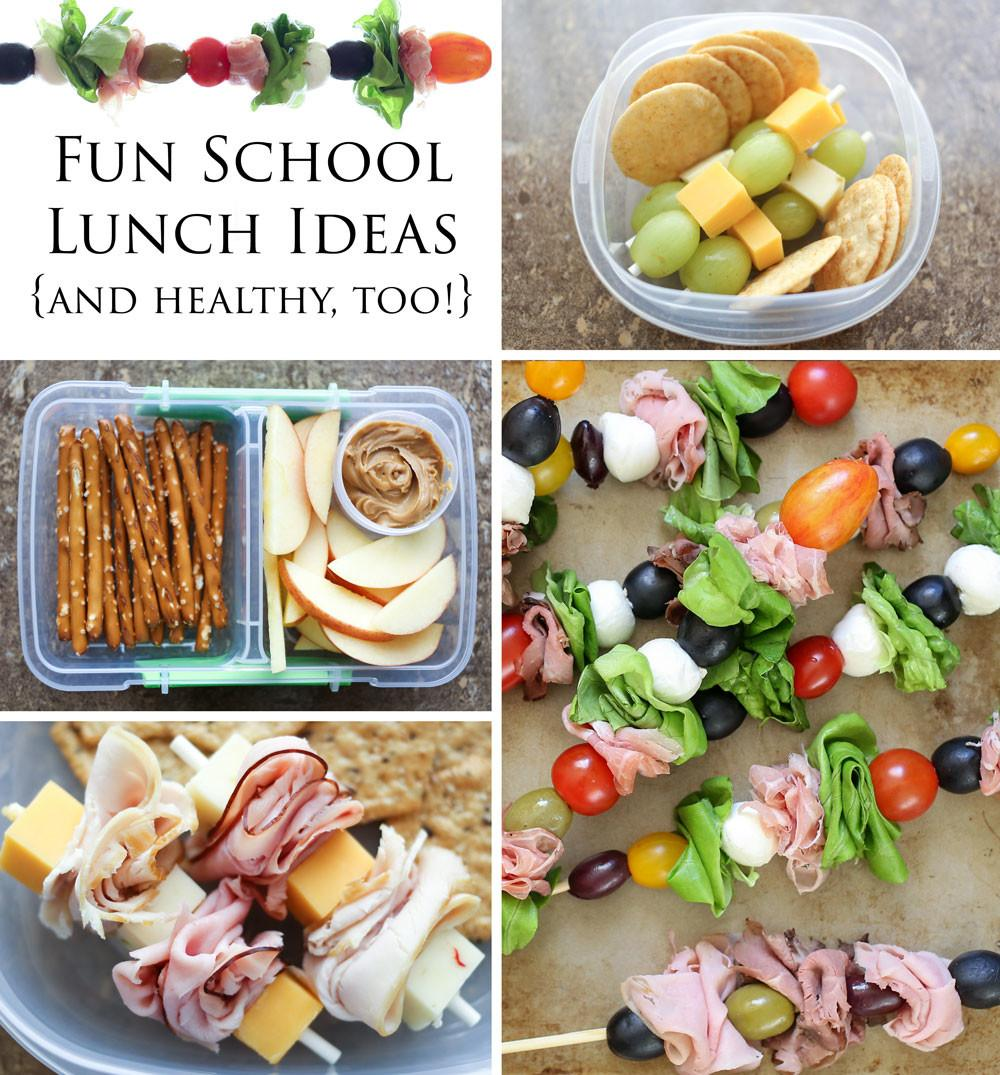 Barefeet Kitchen Fun Back School Lunch Ideas