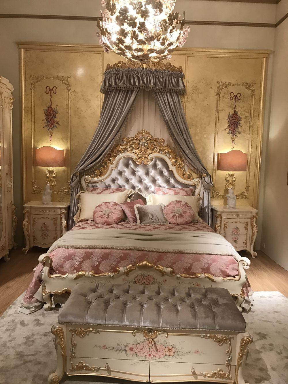 Baroque Rococo Style Make Luxury Bedroom