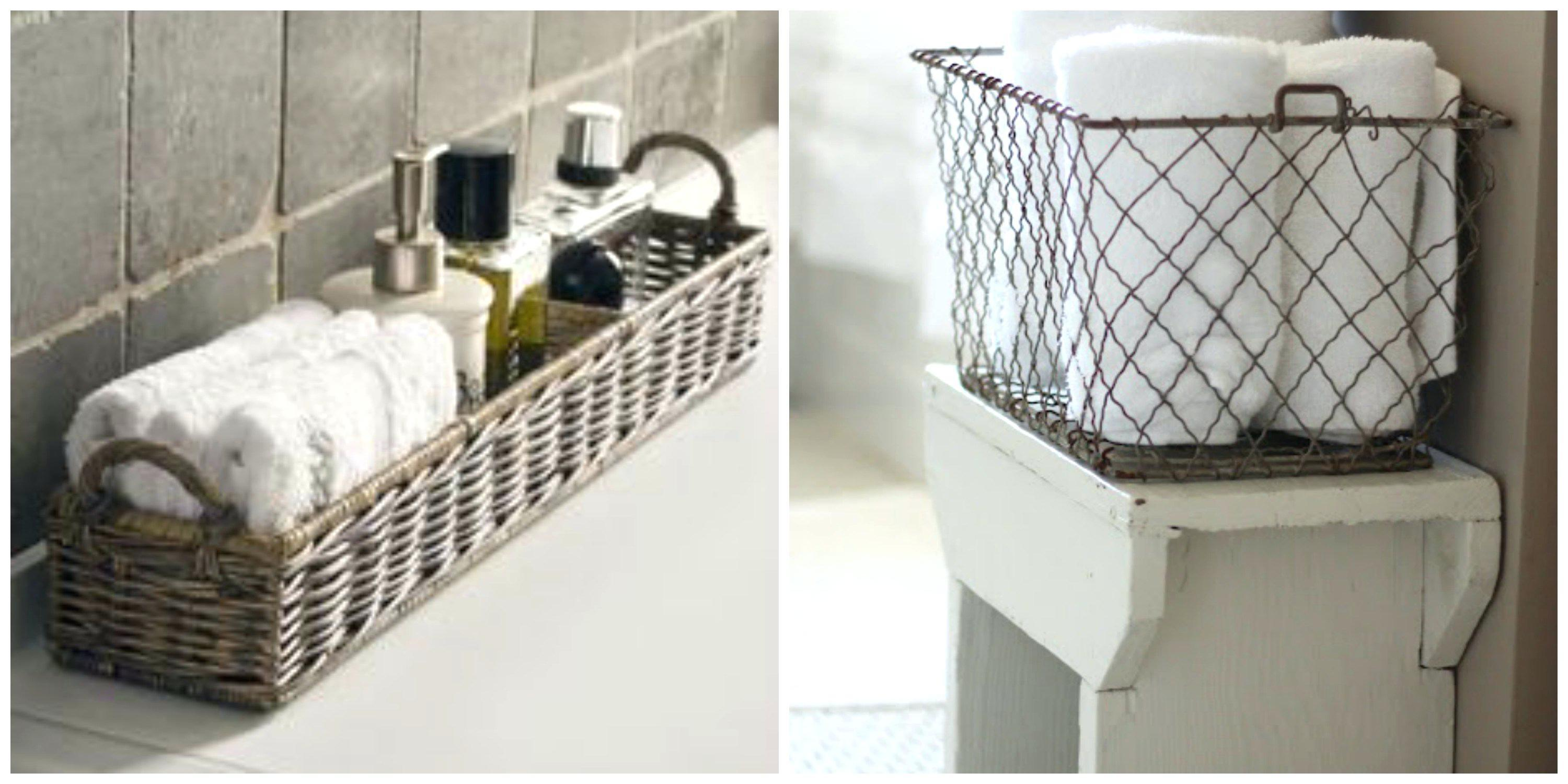 Bars Towel Plush Design Ideas Bathroom Basket Guest