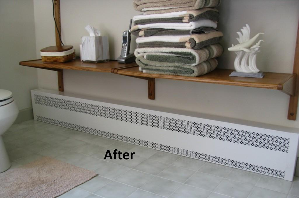 Baseboard Covers Basic One Piece Heating