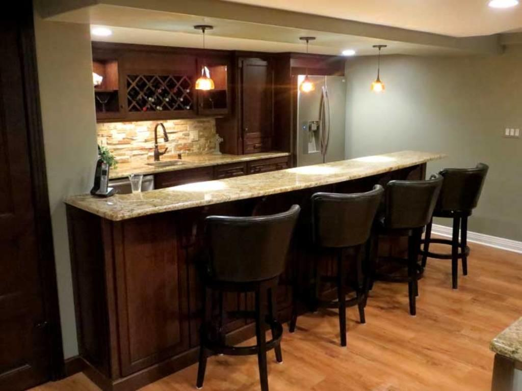 Basement Bar Ideas Modern Rustic