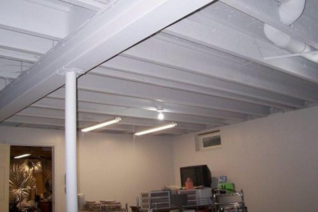 Basement Ceiling Ideas Wood Best